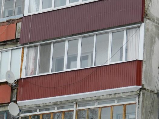 Остекление балкона 6метро алюминиевым профилем фото цена..