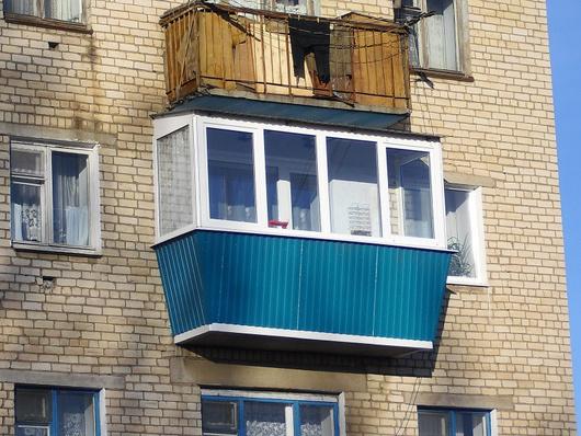 Балкон, длина 3 м в городе самара - портал выгодных покупок .