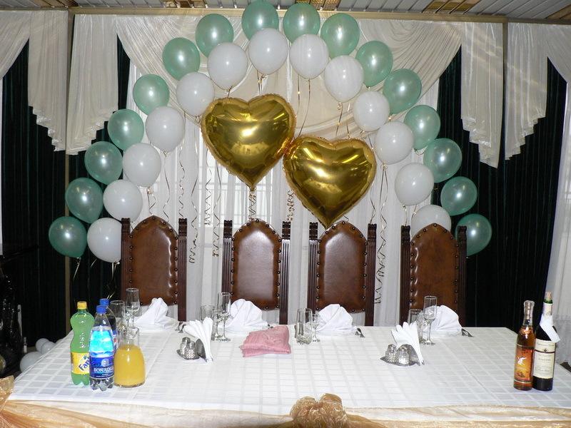 Воздушные шары для украшения зала 27