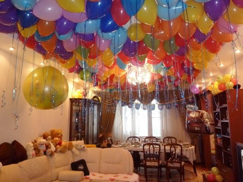 Украсить комнату ко дню рождения мужа своими руками фото