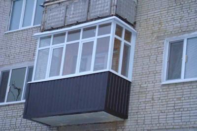 """Кровля балкона/лоджии стандарт от компании """"окна компас"""" куп."""