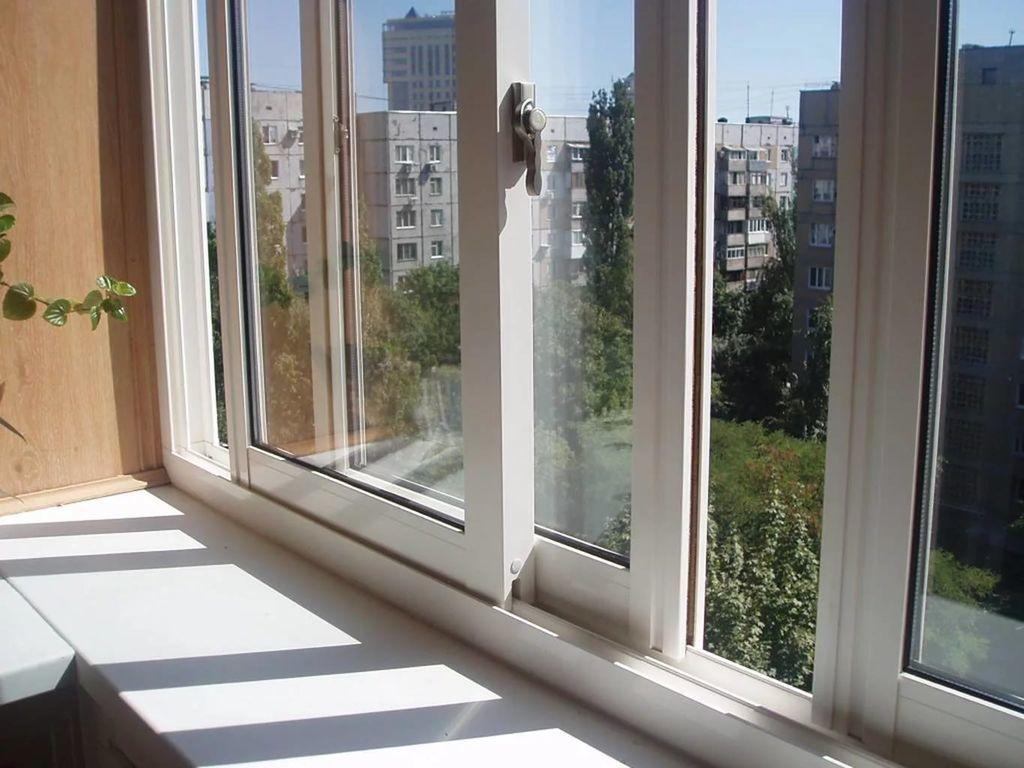 Окна пластиковые раздвижные, балкон раздвижной veka ( века ).