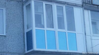 Остекление балконов в омске - на портале blizko.