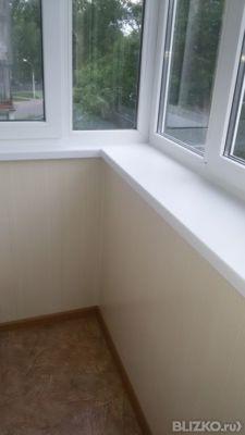 Ремонт балкона (шумоизоляция) от компании галерея окон купит.