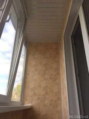 Ремонт потолка на балконе от компании галерея окон купить в .