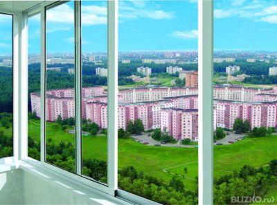 """Раздвижные балконы providal """"окна екатеринбурга""""."""