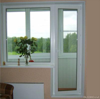 Балконный блок 2100*2100*800 kbe (кбе) от компании алькор-ст.
