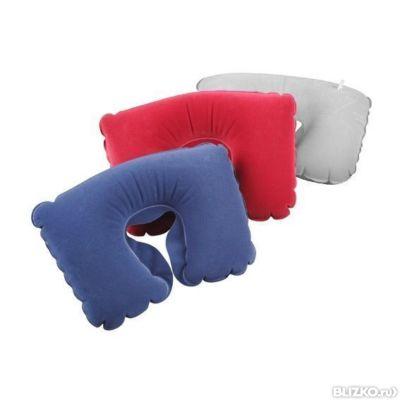 Надувные подушки под голову для путешествий