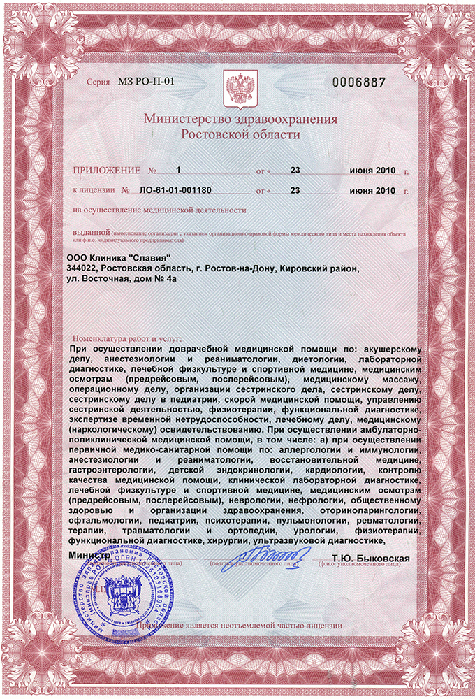 помощь в лицензировании медицинской деятельности
