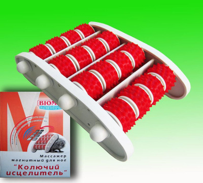 Роликовый игольчатый магнитный массажер магазины женского белья белгород