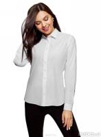 1a9fa688a51 Белые рубашки женские купить в Кемерово